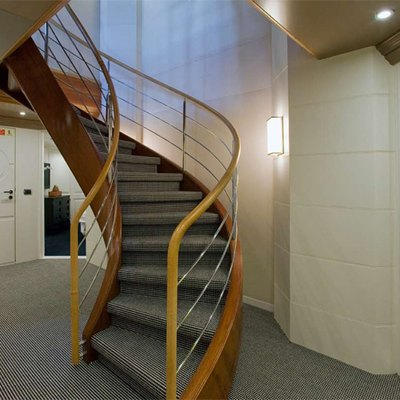 Diamond Yacht Staircase
