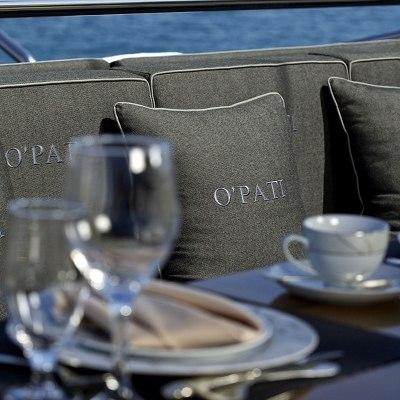 O'Pati Yacht Exterior Decor