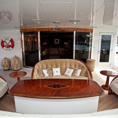 Keri Lee III Yacht Main Deck Area