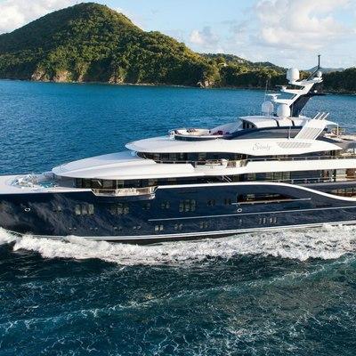 Solandge Yacht Running Shot