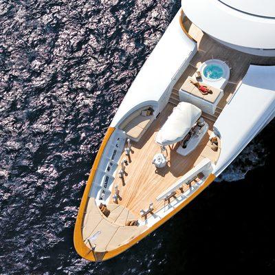 Utopia Yacht Bow