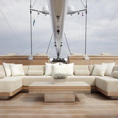 Twizzle Yacht Flybridge - Forward
