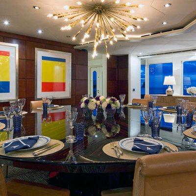 Diamond Yacht Formal Dining - Table