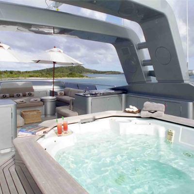 Silver Dream Yacht Jacuzzi