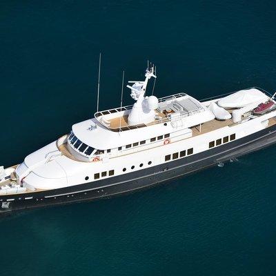 Berzinc Yacht Profile overhead view