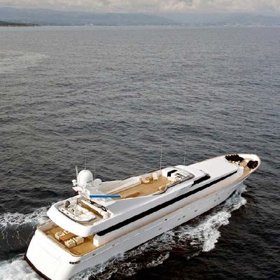 Mabrouk Yacht Aerial