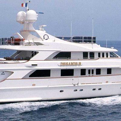 Desamis B Yacht Running Shot