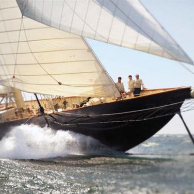 Atlantic Yacht Running Shot - Bow