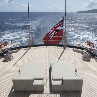 Red Dragon Yacht Aft View