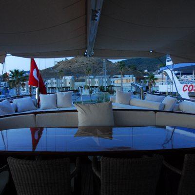 Carpe Diem IV Yacht Exterior Dining