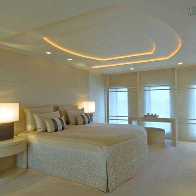 Siren Yacht Master Stateroom