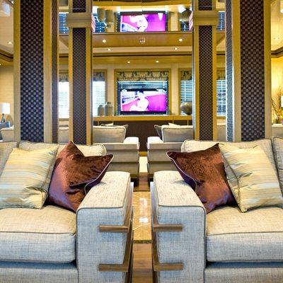 Neom Yacht Main Saloon Seating