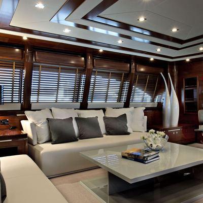 Libertas Yacht Upper Salon