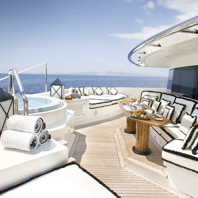 Alfa Nero Yacht Jacuzzi