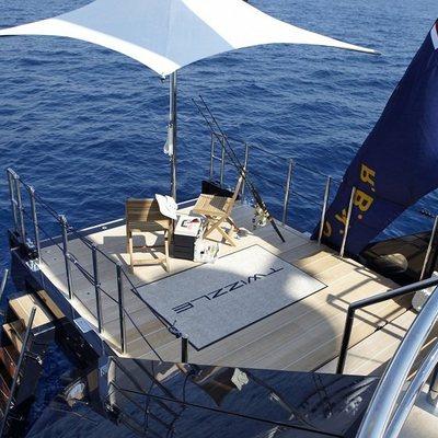 Twizzle Yacht Swim Platform