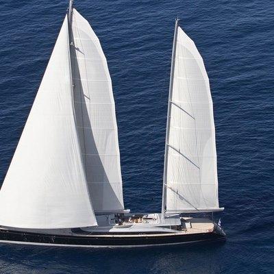Vertigo Yacht Aerial - External View