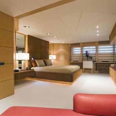Deep Blue II Yacht Master Stateroom