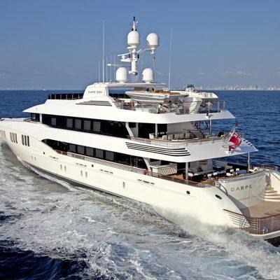 Carpe Diem Yacht Running Shot - Rear View