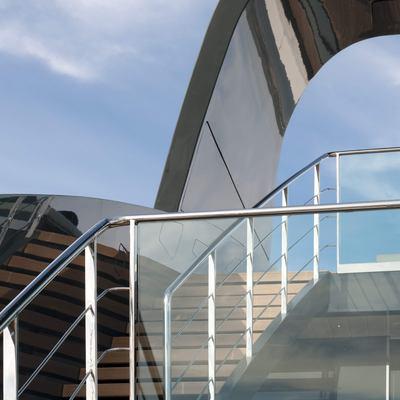 Ocean Pearl Yacht Stairs - Detail