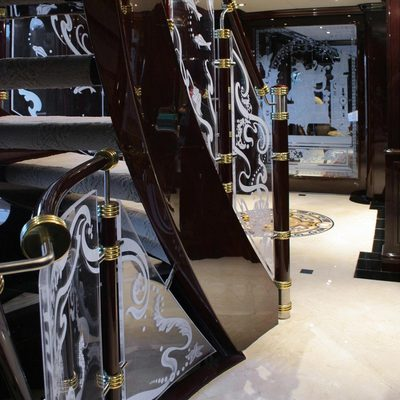 Ionian Princess Yacht Lower Staircase