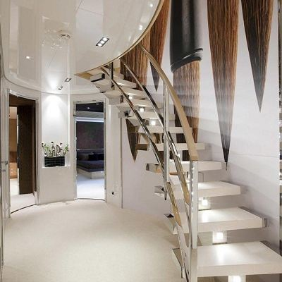 La Pellegrina I Yacht Stairs