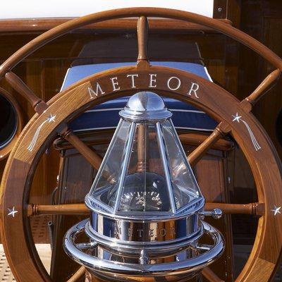 Meteor Yacht Wheel