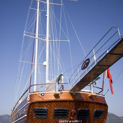 Take It Easier Yacht Stern & Gangway