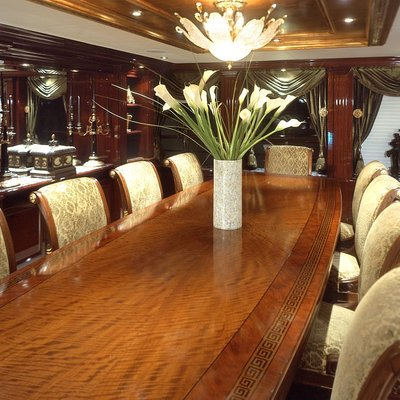 Ionian Princess Yacht Dining Table