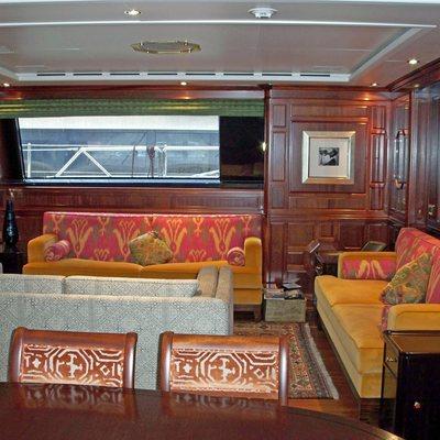 Blush Yacht Salon Seating