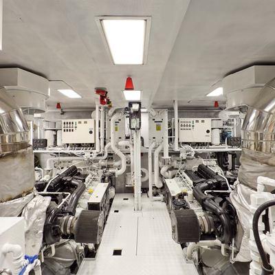 Sophie Blue Yacht Engine Room