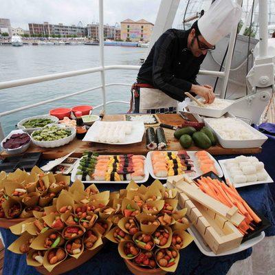 Dionea Yacht Deck Buffet