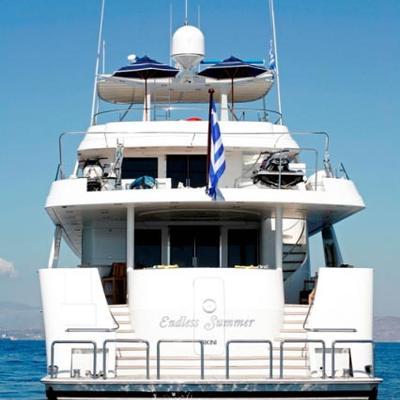 Endless Summer Yacht Stern