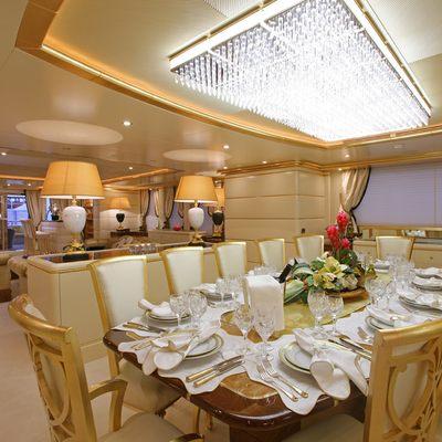 Platinum Yacht Formal Dining