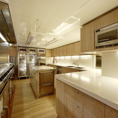 Sycara V Yacht Galley