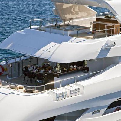 Seven S Yacht Aft Decks