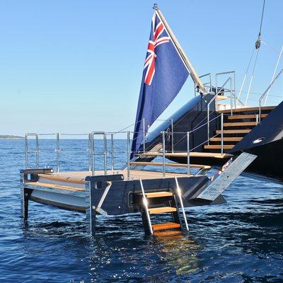 Twizzle Swim Deck - Flag