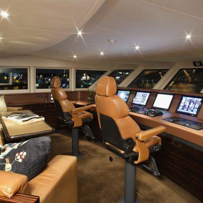 Inception Yacht Wheelhouse