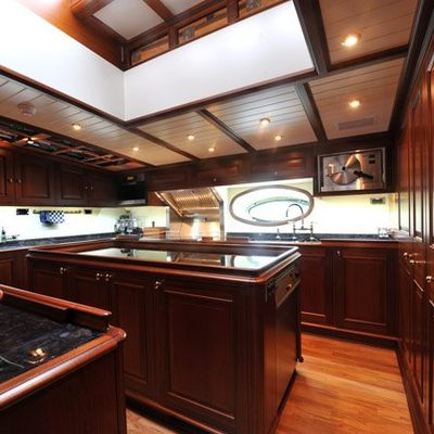 Athos Yacht Galley