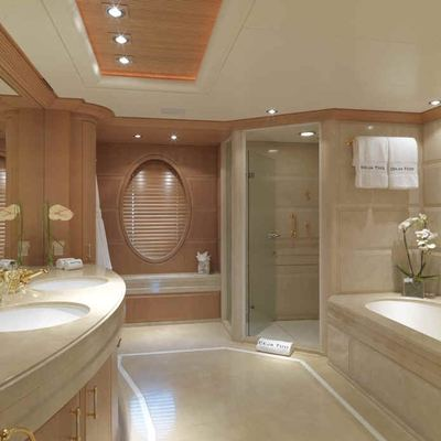 Deja Too Yacht Master Bathroom