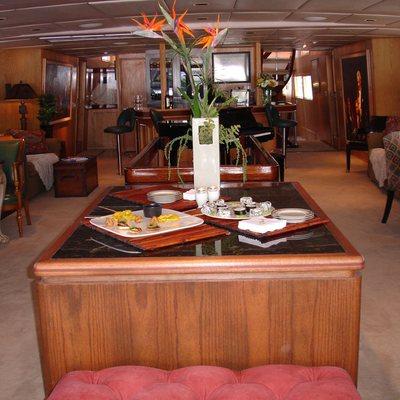 Le Montrachet Yacht Salon Looking Forward