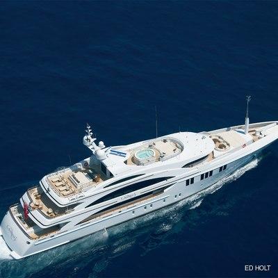 Mimi Yacht Rear Aerial View