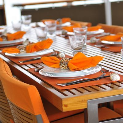 Calisto Yacht Exterior Dining Table