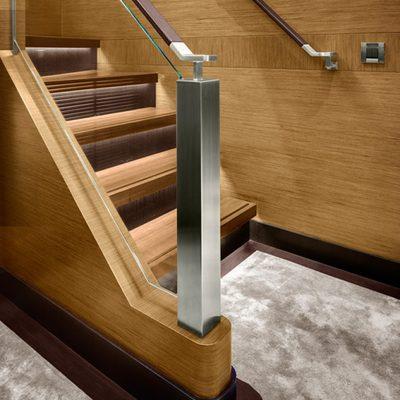 Kokomo Yacht Staircase - Detail