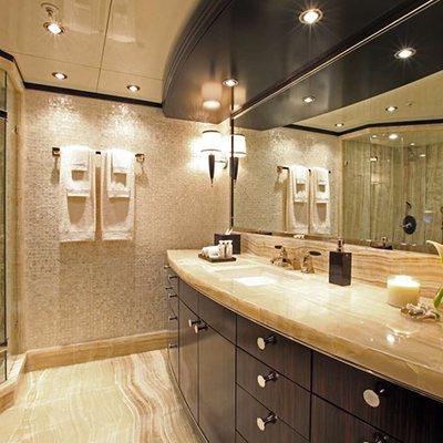 Carpe Diem Yacht Master Bathroom - His