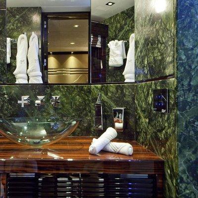 Seven S Yacht Bathroom - Detail