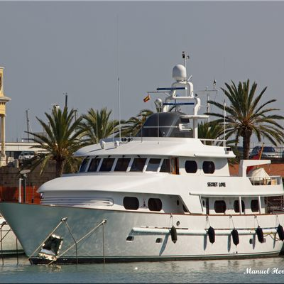 Secret Love Yacht In Port