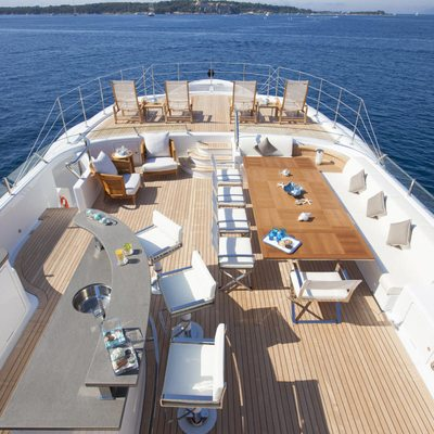 Revelry Yacht Sundeck - Overview