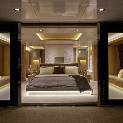 Big Fish Yacht Master Stateroom - View Inside