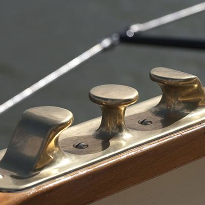 Atlantic Yacht Detail - Cleat