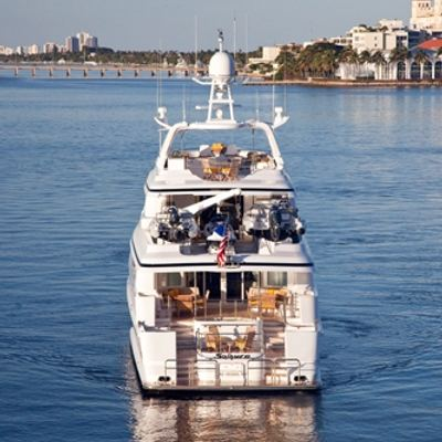Sojourn Yacht Stern with Toys